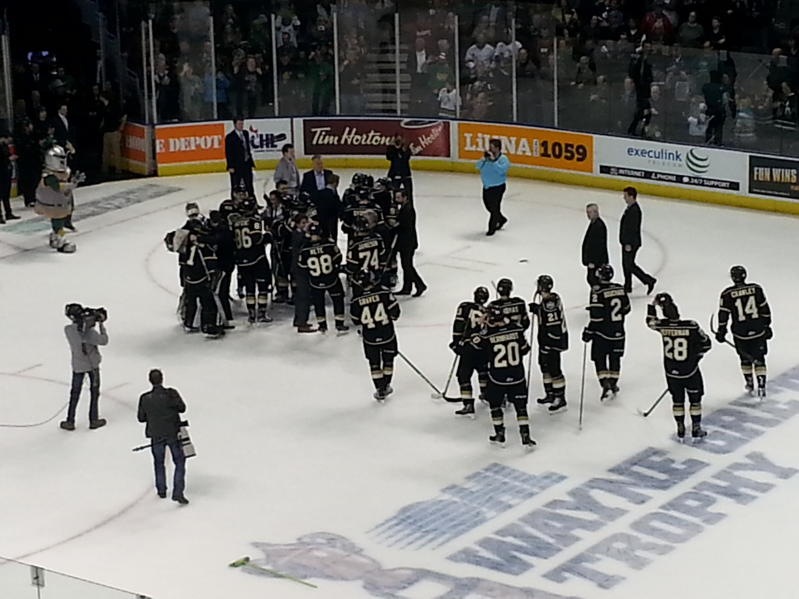 Knights crowned Western Conference Kings in Otter sweep