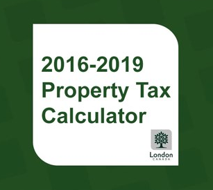 Londoners calculate individual property taxes with multi-year web tool