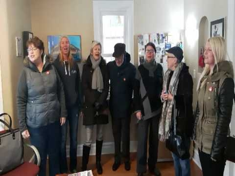 Protesters occupy Deb Matthew's office for 57th week