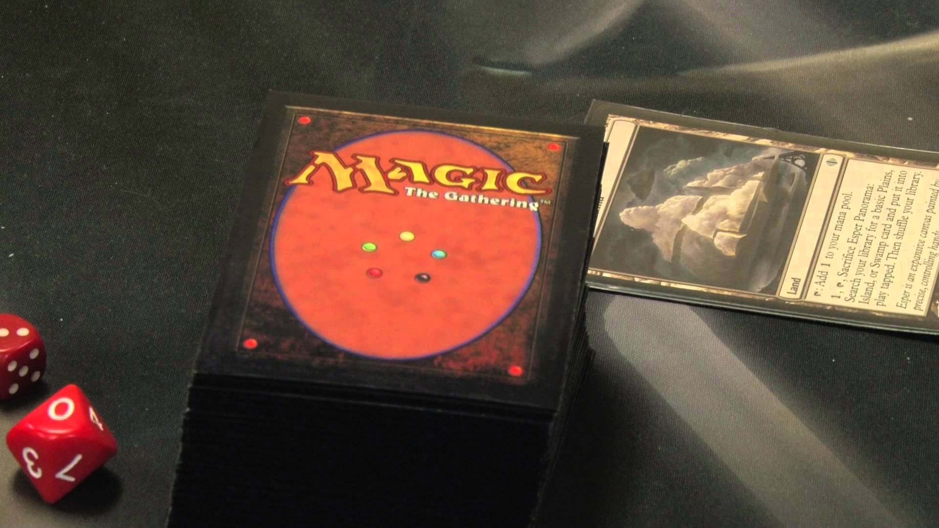 The Magic of trading card games