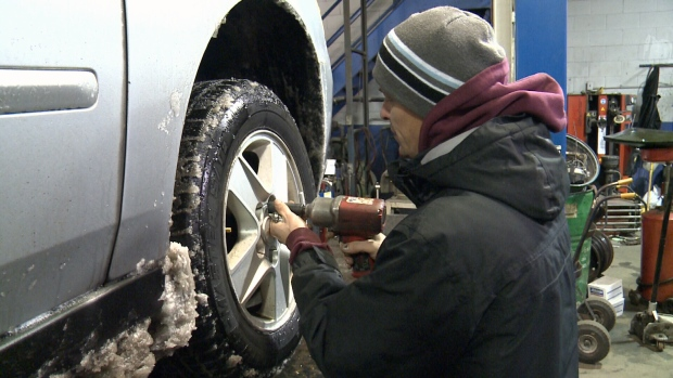 Spring is here but don't remove those winter tires yet