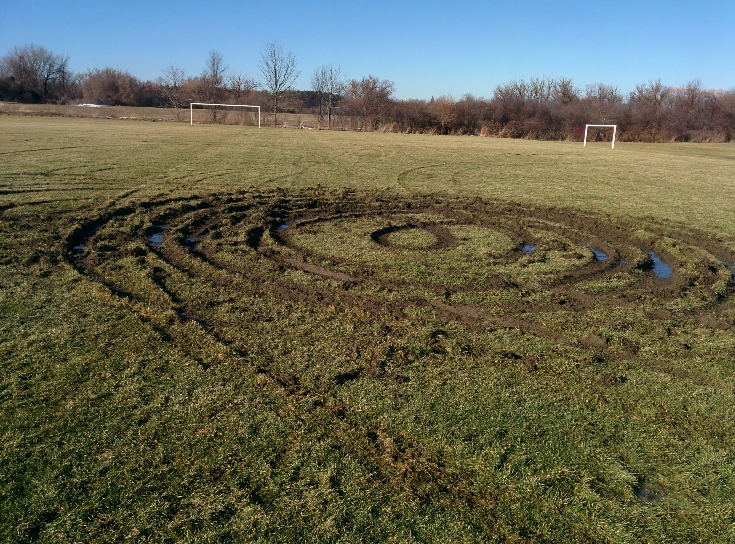 Repairs to soccer field means no sidelines for teams