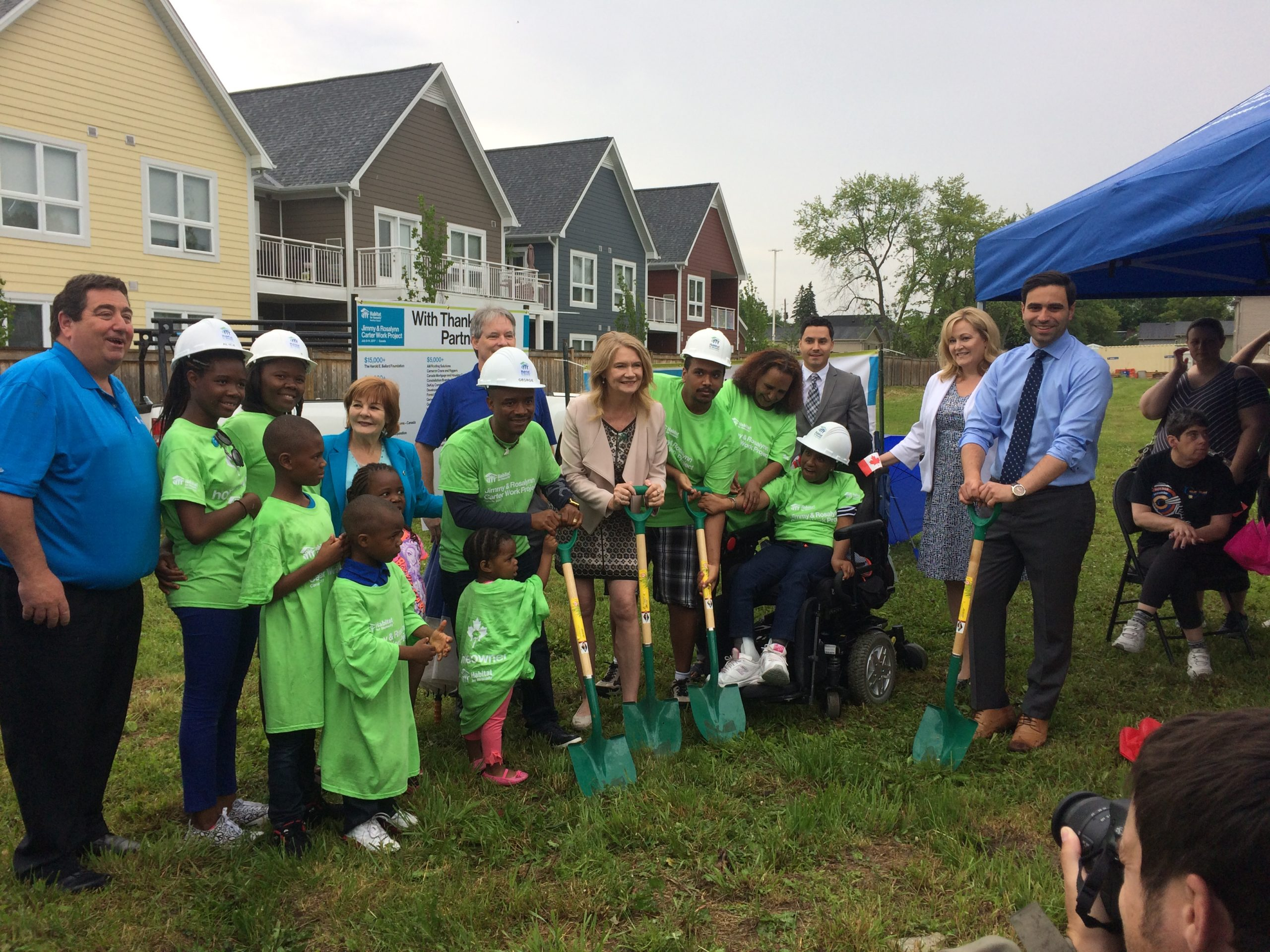Habitat for Humanity Breaks Ground on New Homes
