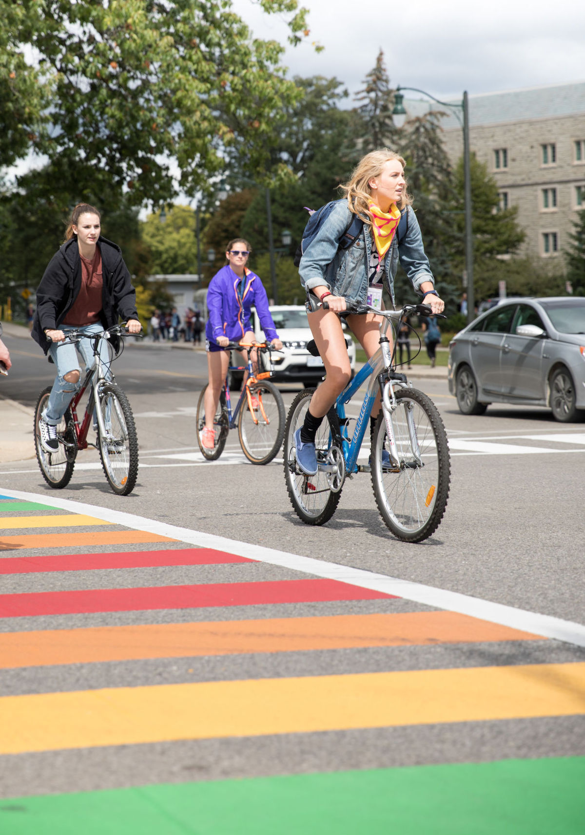 Cyclist Accidents Create Debate On Campus