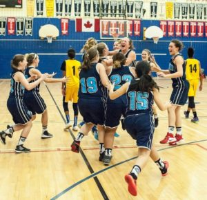 Vikings celebrate team's first- ever OFSAA victory