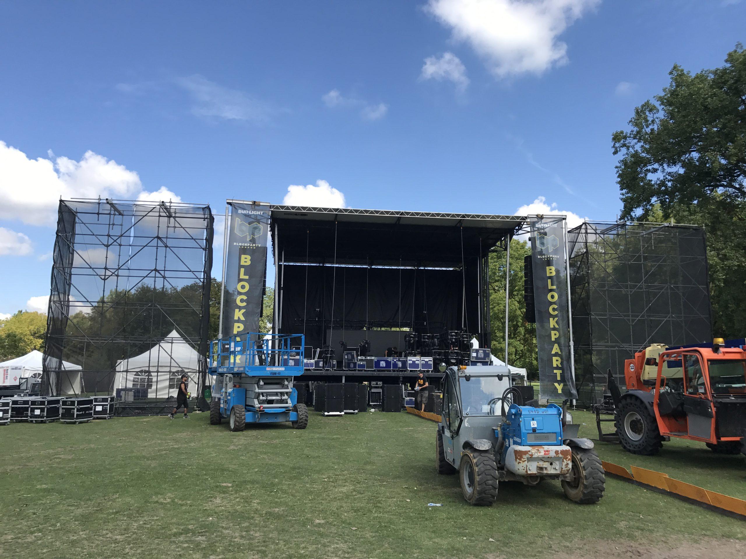 Harris Park prepares for London's biggest EDM Festival