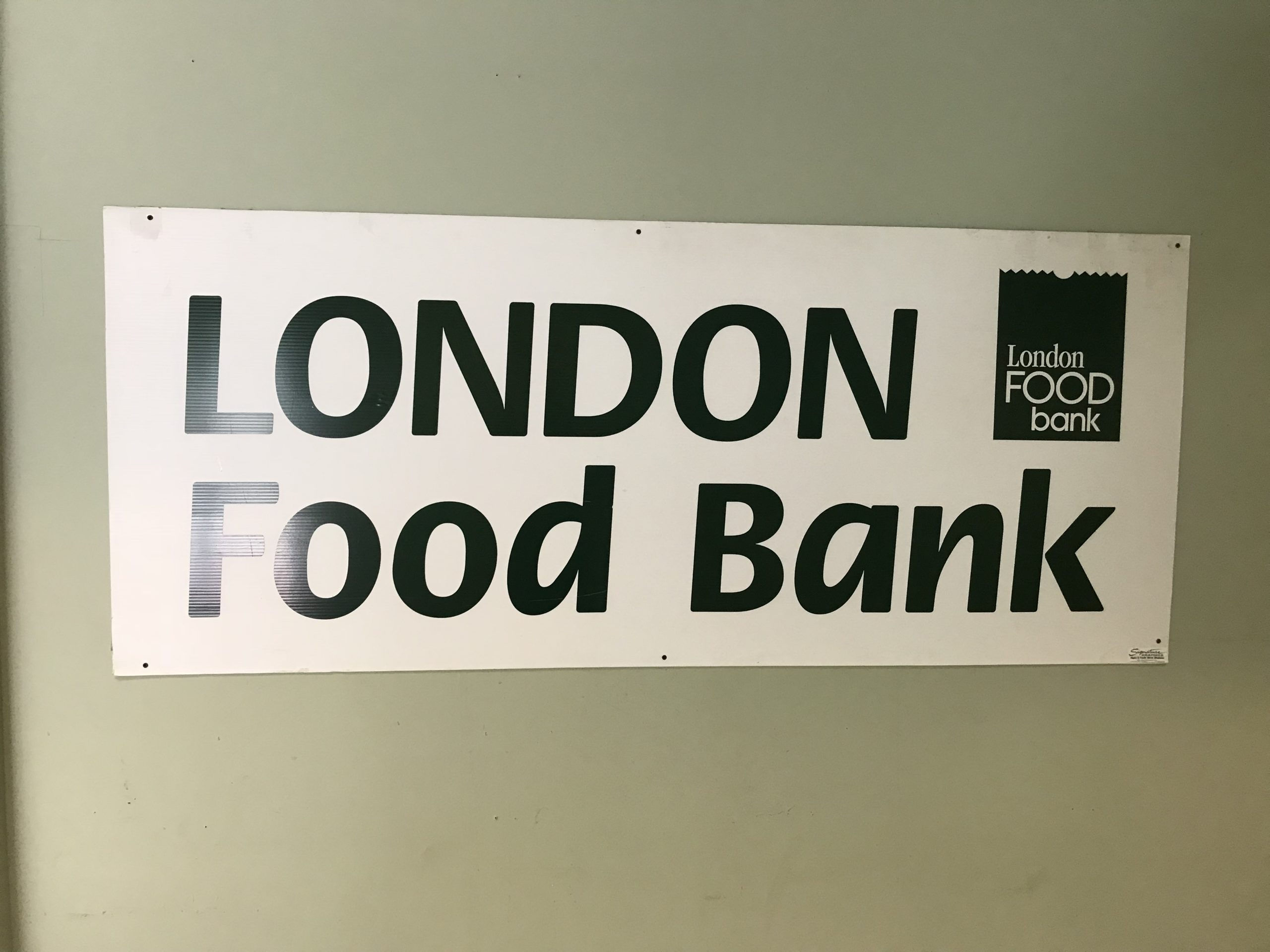 London Food Bank's 29th Annual Thanksgiving Food Drive