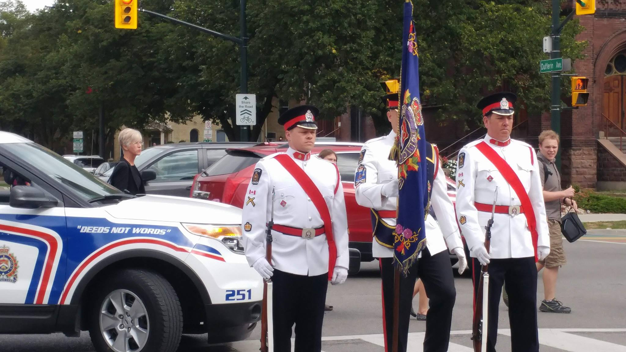 London Police Colour recognize 10 year mark