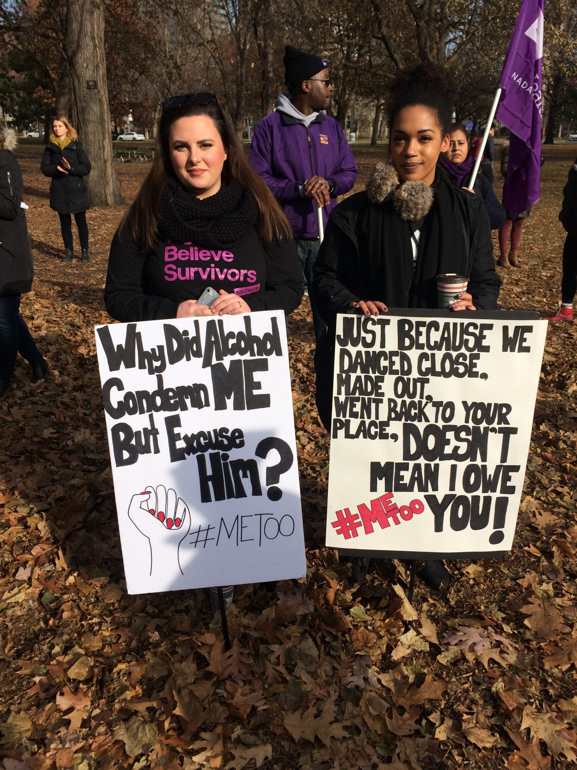 #metoo walk brings survivors and allies together at Queen's Park