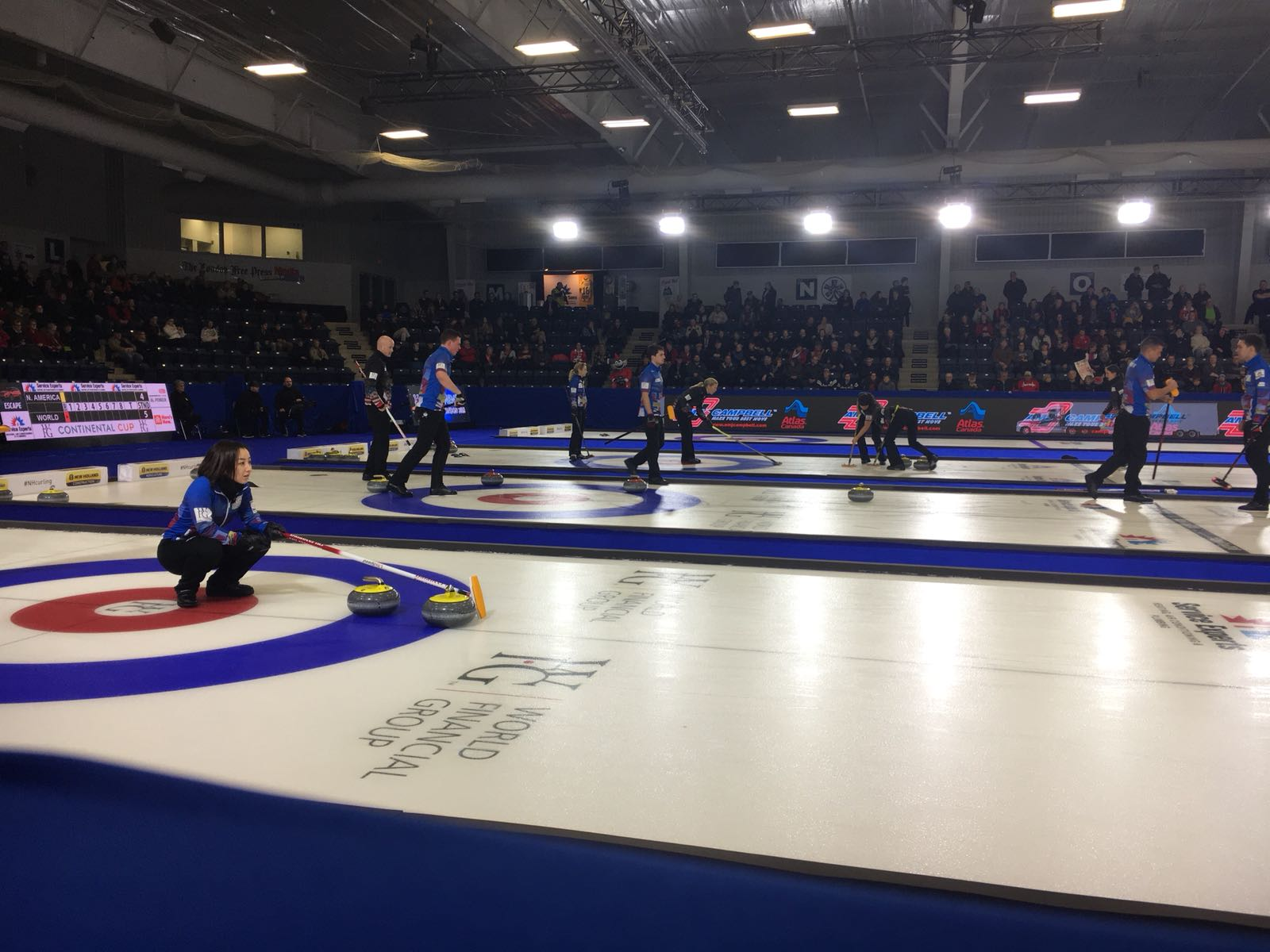 WFG Continental Cup is staying in North America