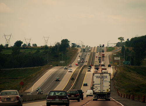 Concrete barriers coming to Hwy. 401, near Chatham