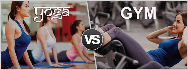 Yoga VS Gym. Which one works for you?