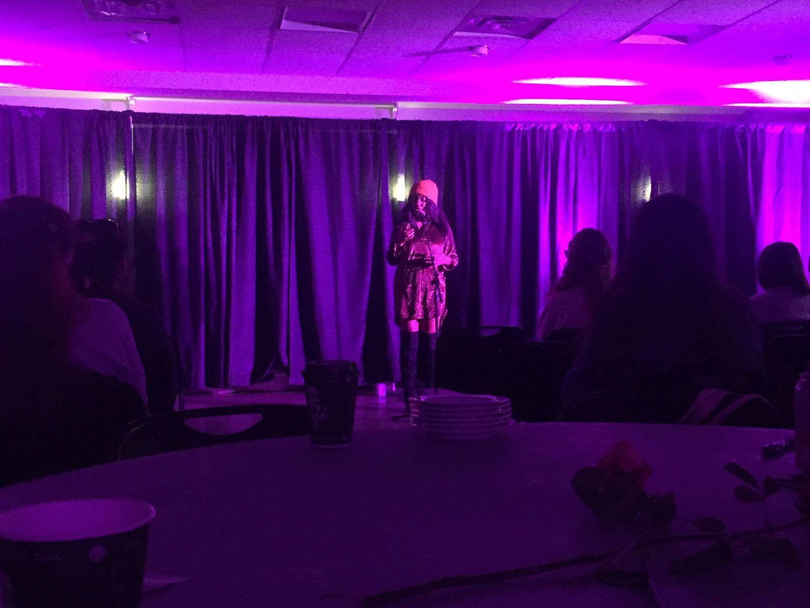 Purple Sex on stage