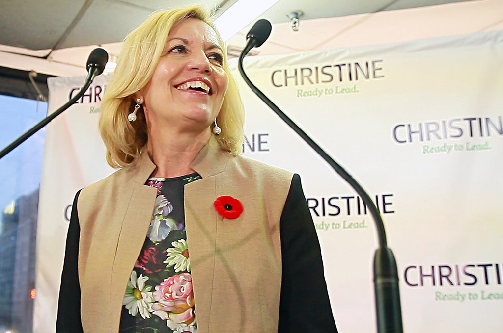 "Christine Elliott not ready to ""concede"""
