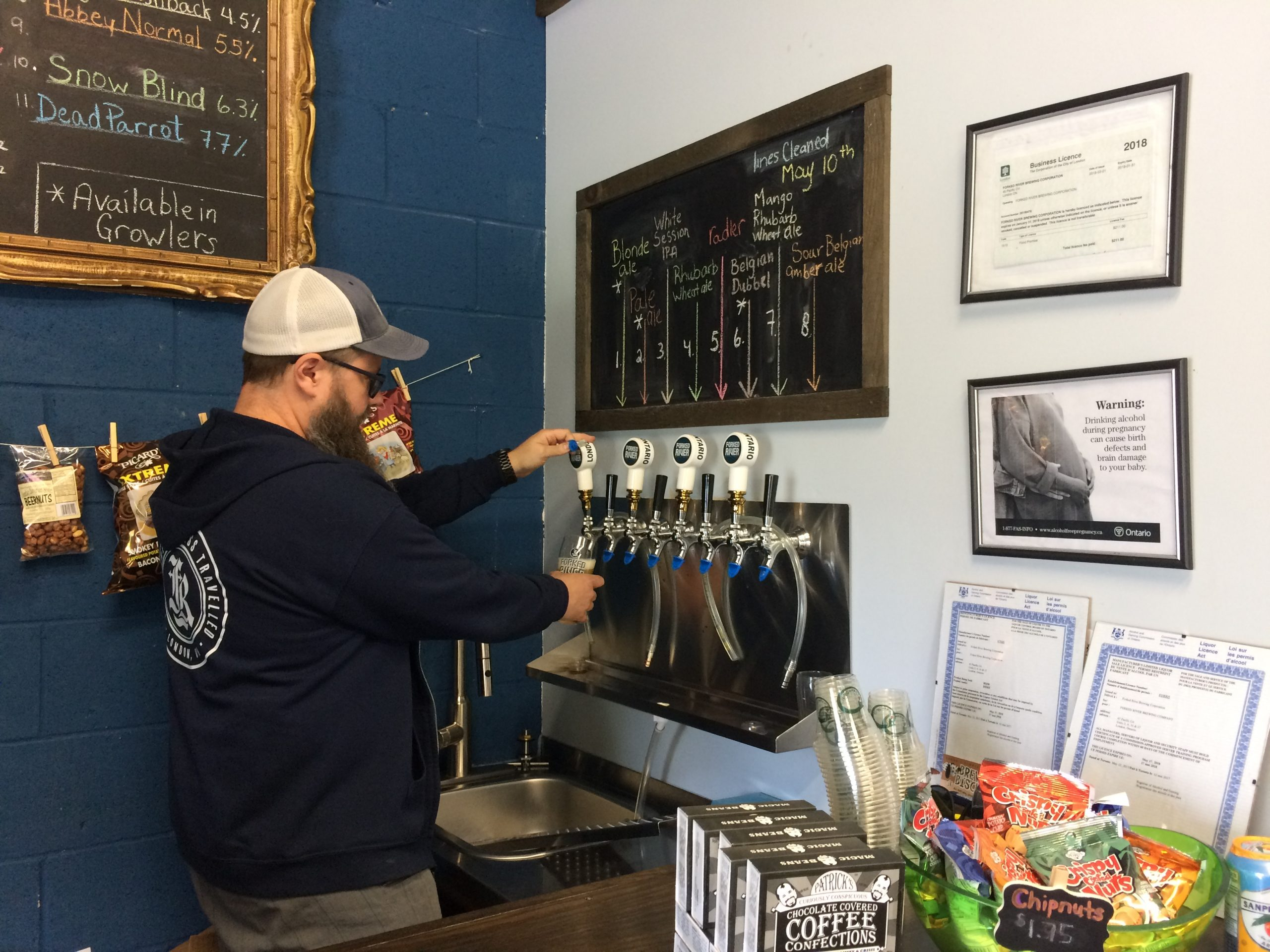 Summer is the busiest season for small local breweries
