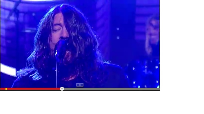 Foos Perform Sabbath On Letterman