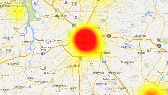 Major Wireless Outages Reported in Middle Tennessee