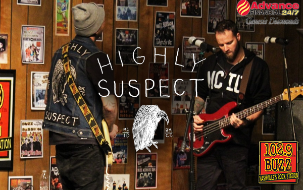 Highly Suspect Buzz Session