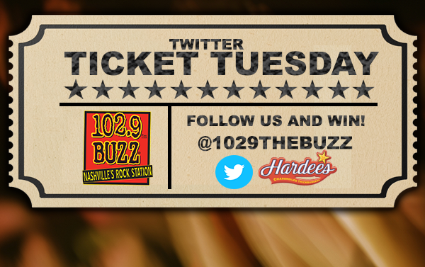 Twitter Ticket Tuesday