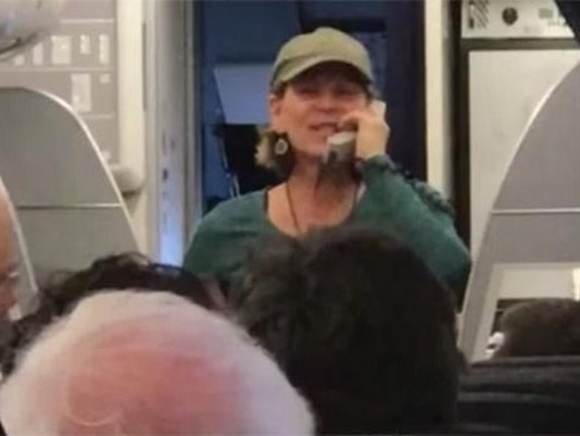 Pilot(not passenger) removed from flight.