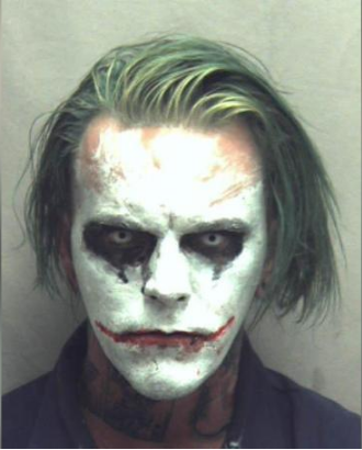 Virginia Man Dressed as the Joker Walked the Streets Carrying a Sword