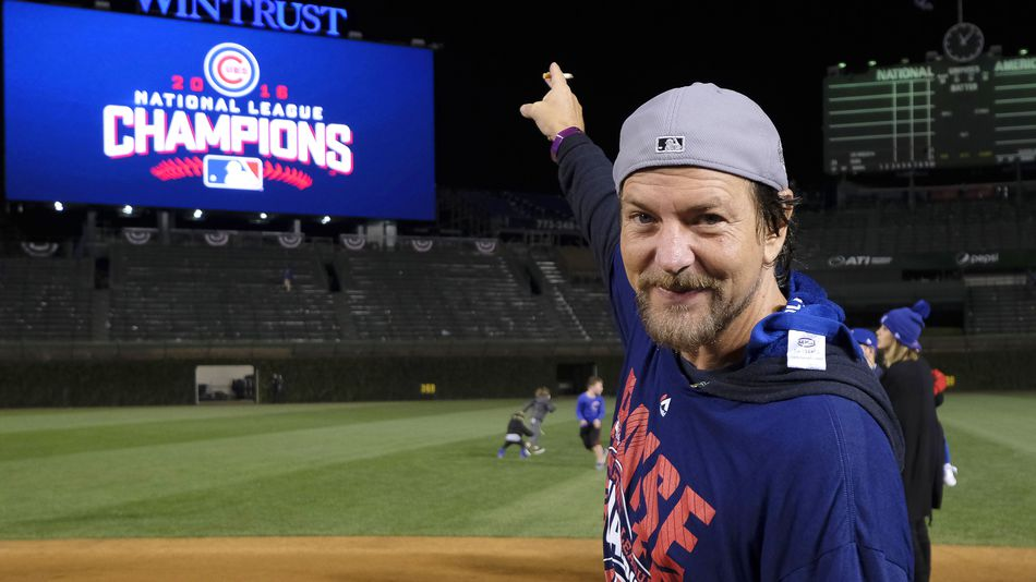 Baseball is back!  And so is Eddie Vedder...