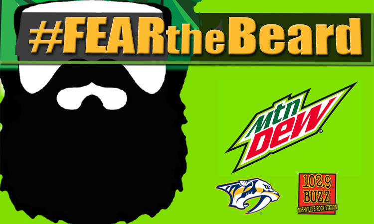 Submit your photo using #FEARtheBeard!