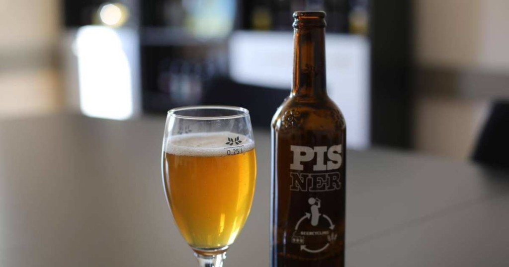 This beer tastes like p...oh, it is?!
