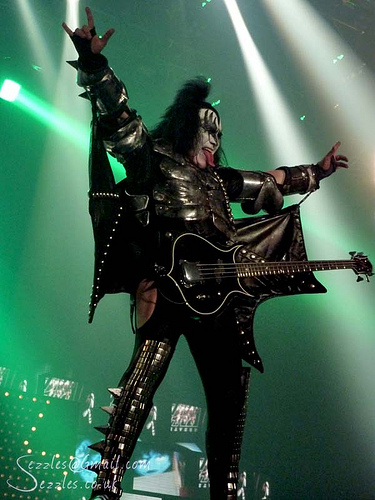 Gene Simmons Wants His Signature Hand Gesture Trademarked