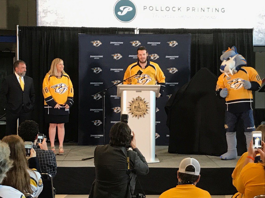 Ryan Johansen Named Honorary Mayor for the Day