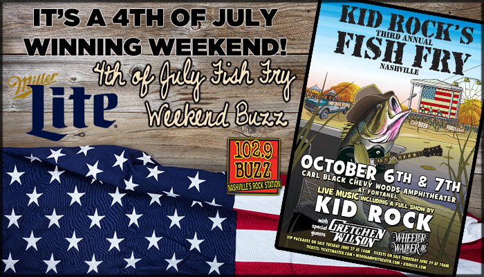 Win Kid Rock tickets & a case of Miller Lite!