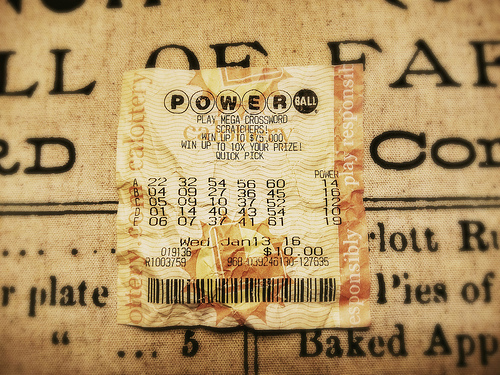 Guy Gives Away Lottery Ticket. It Was A Winner