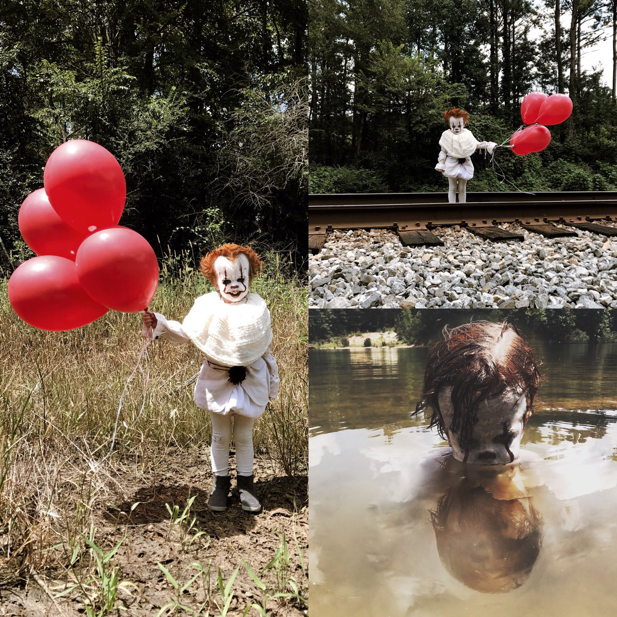 """IT"" is out and this 3 Year Old may be creepier than Pennywise!"