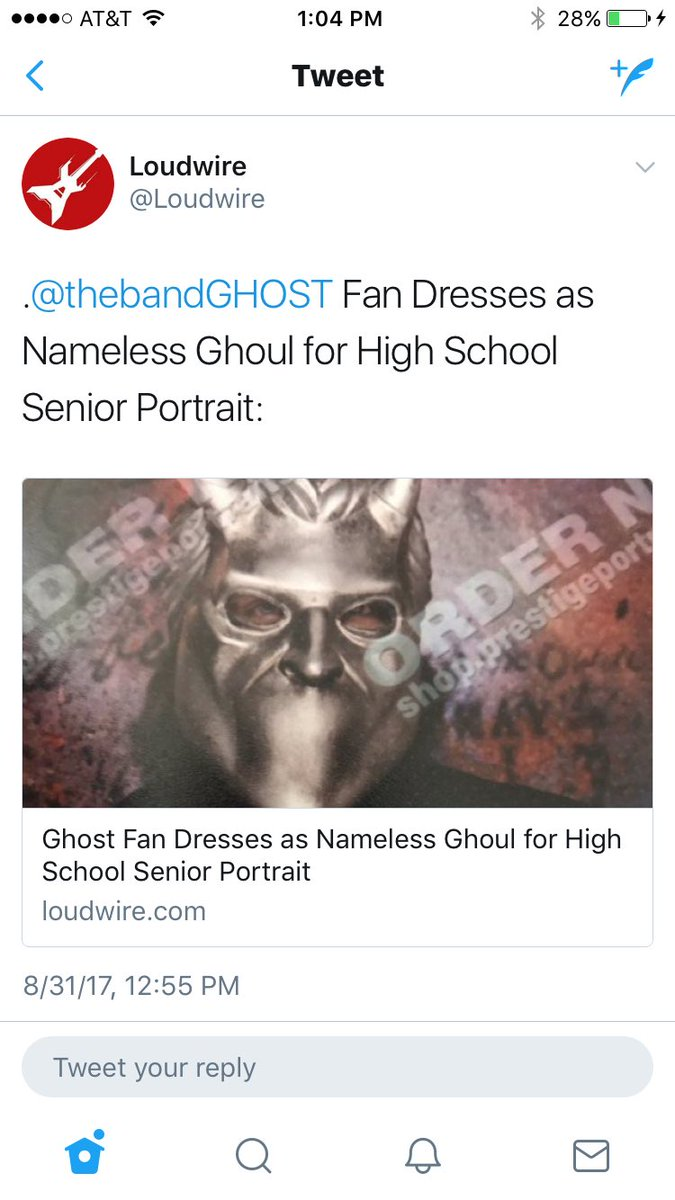 High School senior is a Nameless Ghoul.