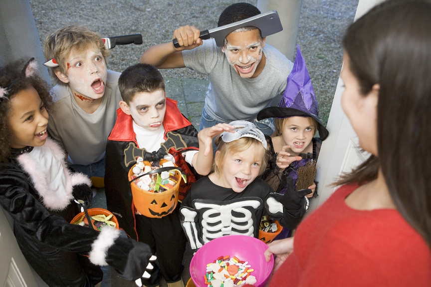 Trick or Treat...Not if you're 16!