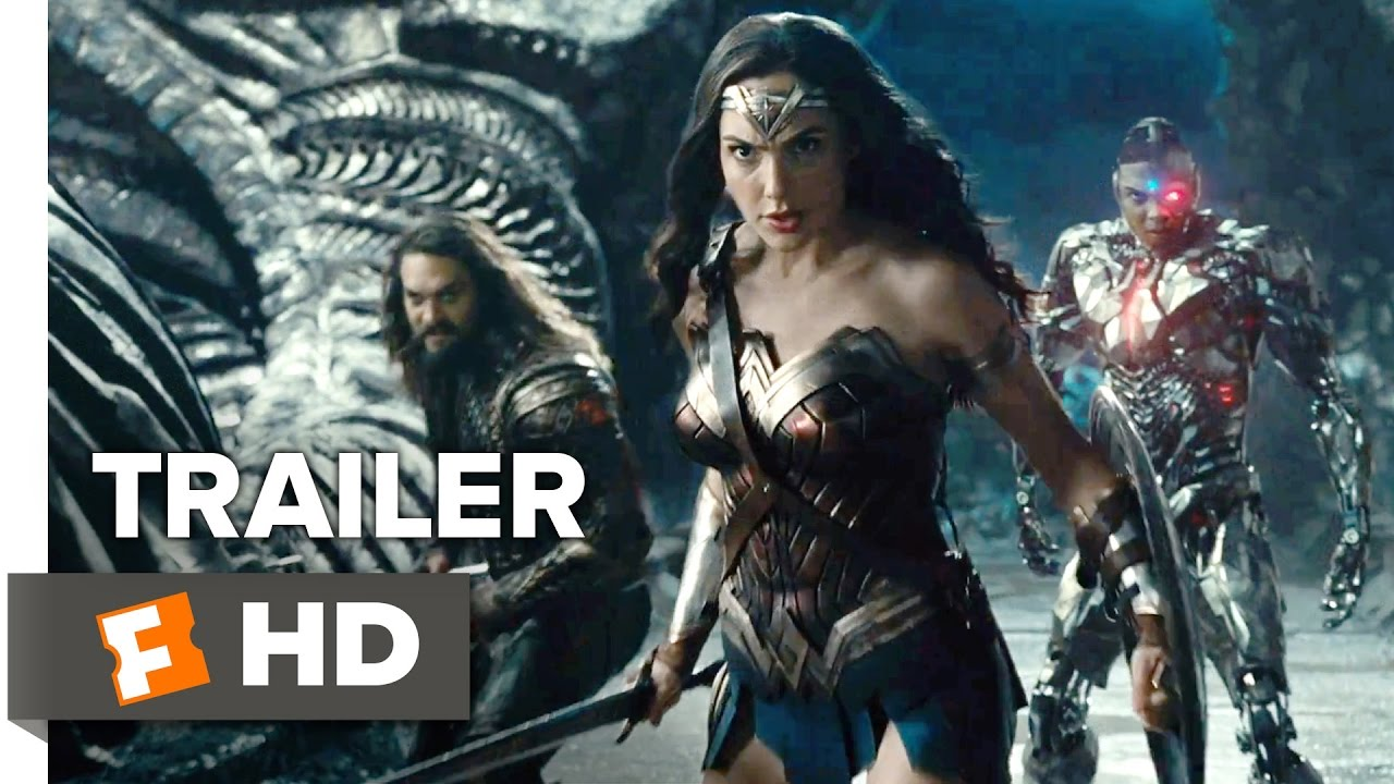 Justice League Trailer dropped!