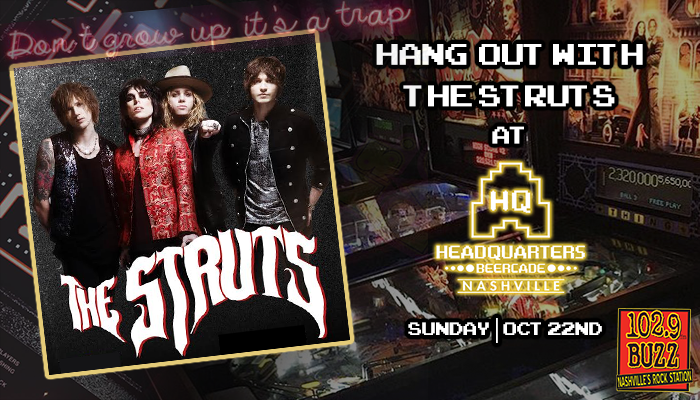 Hang out with The Struts and win tickets!