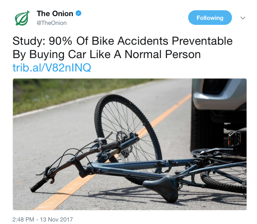 The Onion is real fake news.