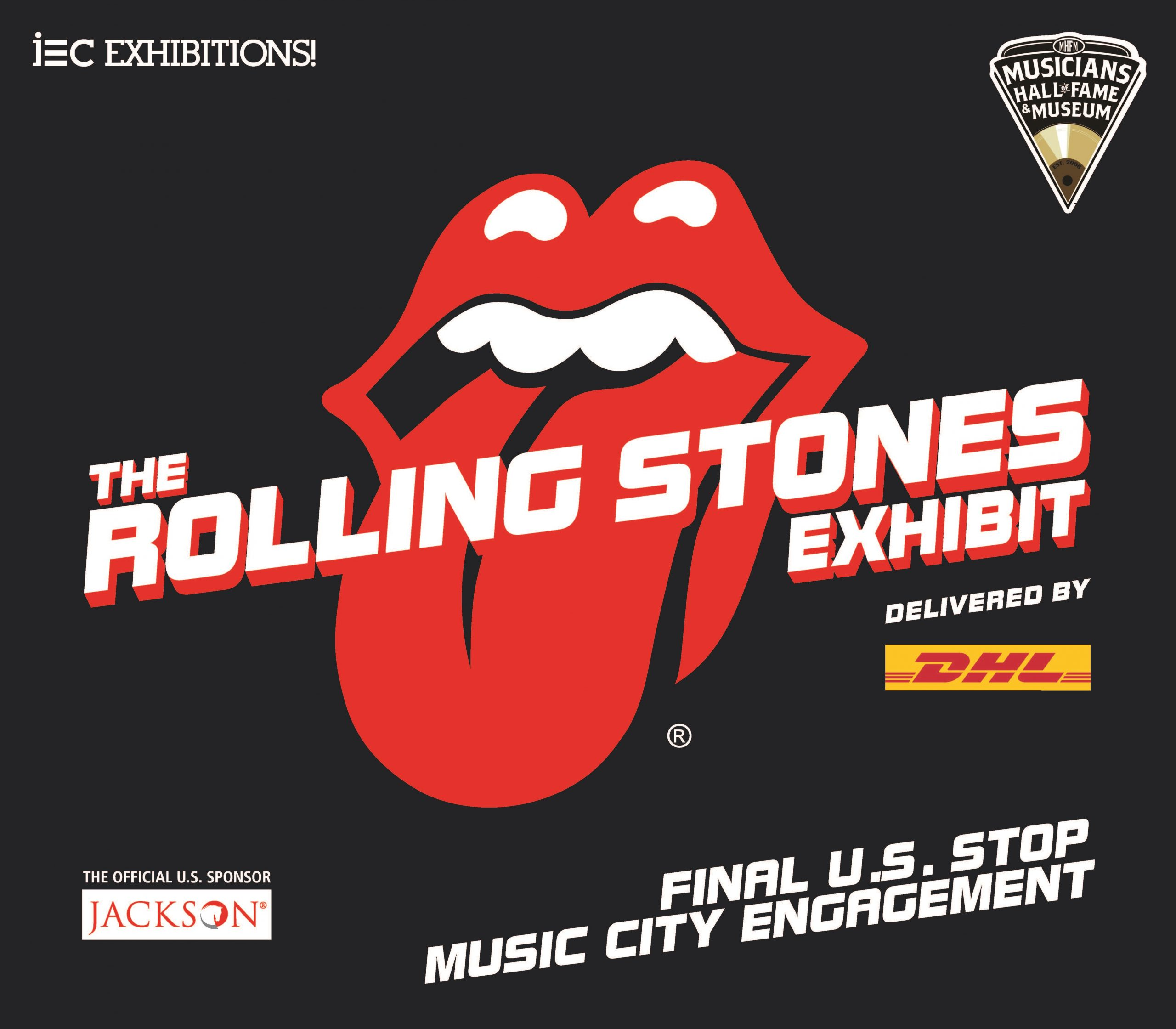 Sculptures of The Rolling Stones 'Tongue and Lips' Logo Invade Music City