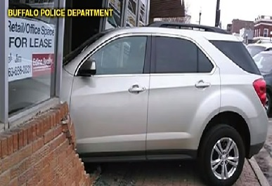 Teen Crashes Car Into Building While Taking Driver's Test