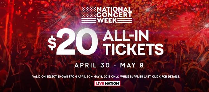 Live Nation Concert Week!