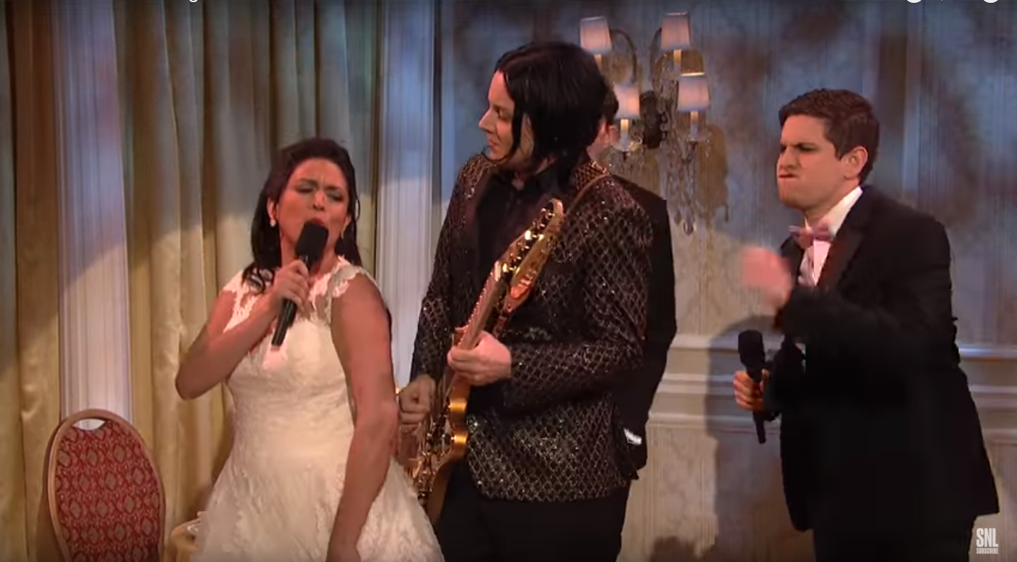 Watch Jack White on His Latest SNL