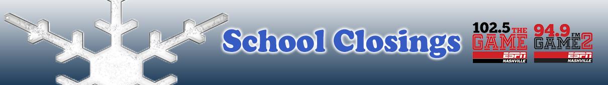 school closings headline