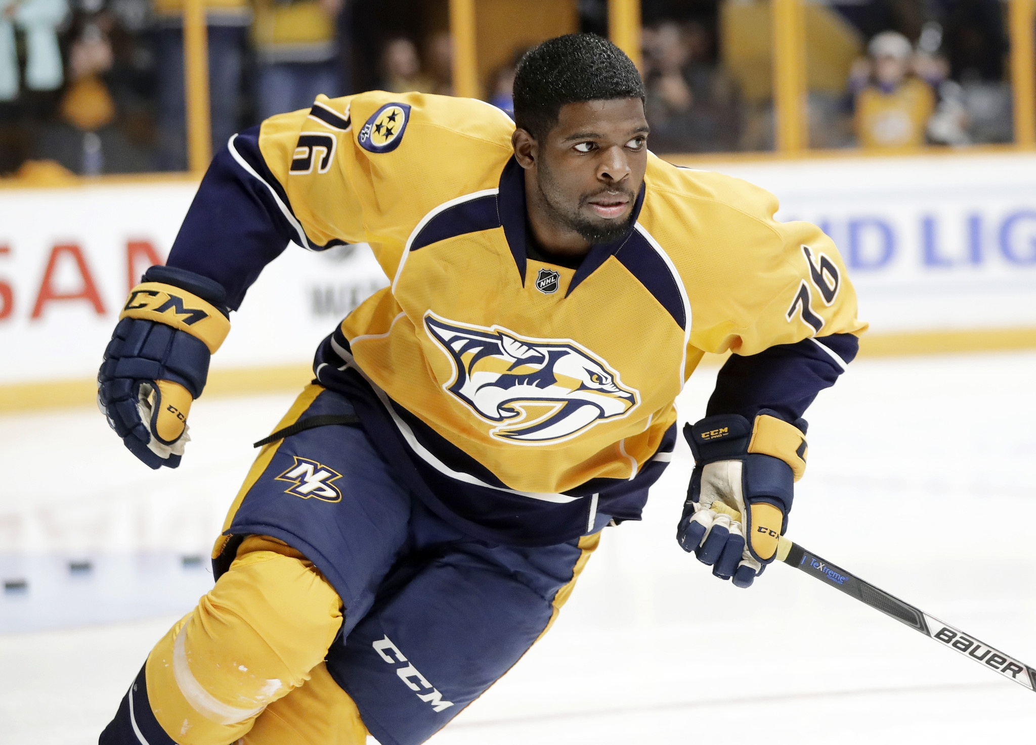 P.K. Subban Returns to Montreal