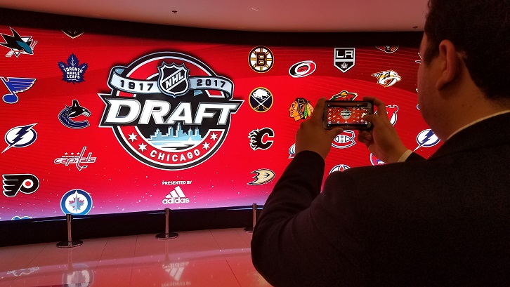 "LIVE FROM CHICAGO: Preds get ""steal of the first round"" at 30 overall"