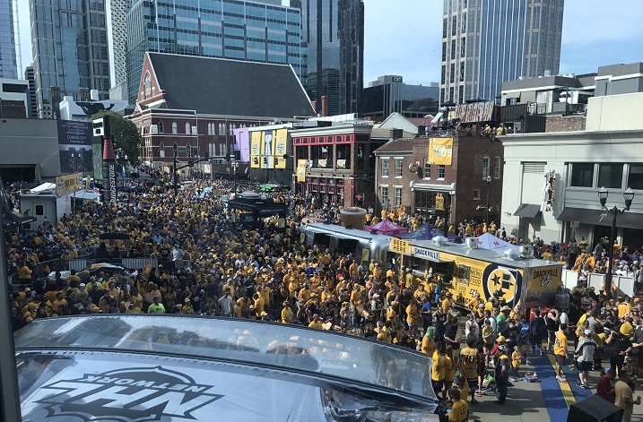 National media gushes over Nashville Stanley Cup Final experience