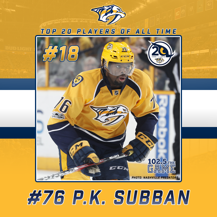 The Top 20 Predators of All Time: #18 P.K.  Subban