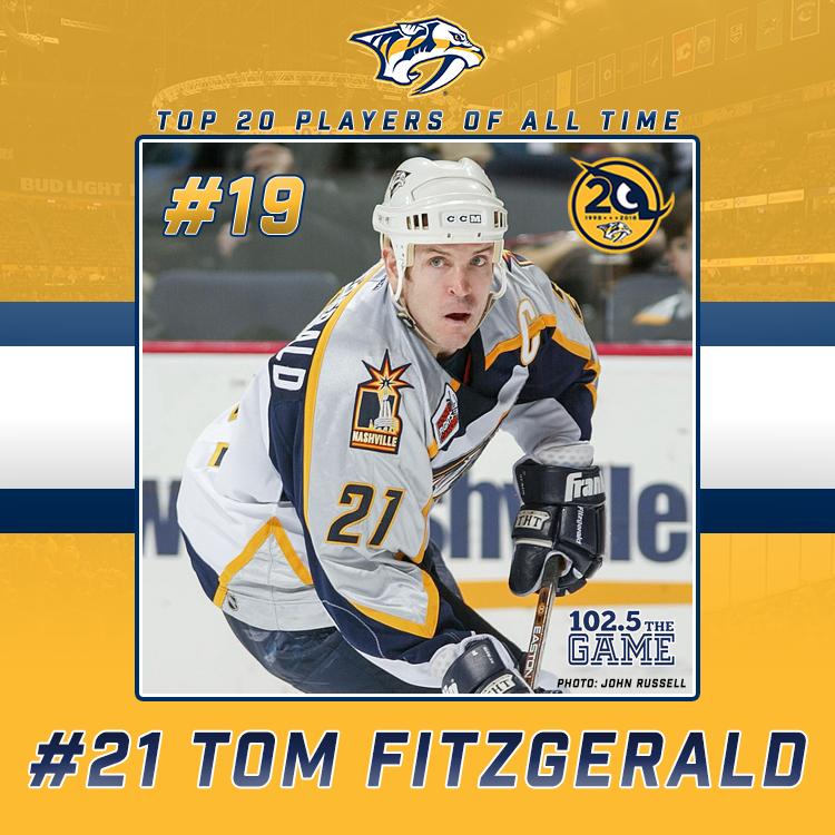 Top 20 Predators of All Time: #19 Tom Fitzgerald