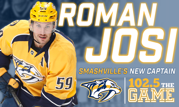 Roman Josi named seventh Preds captain, second ever Swiss-born NHL captain