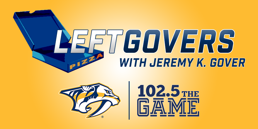 LEFTGOVERS: Predators vs. Avalanche - Game 19